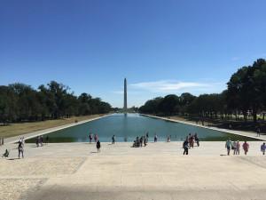 Reflecting pool a Washington Monument