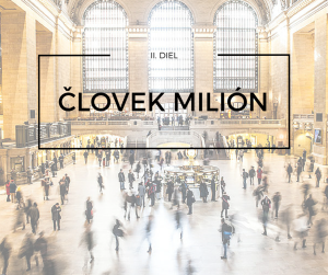 človek milión, blog