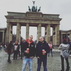 tonychef, majkychef, berlin, brandenburg gate