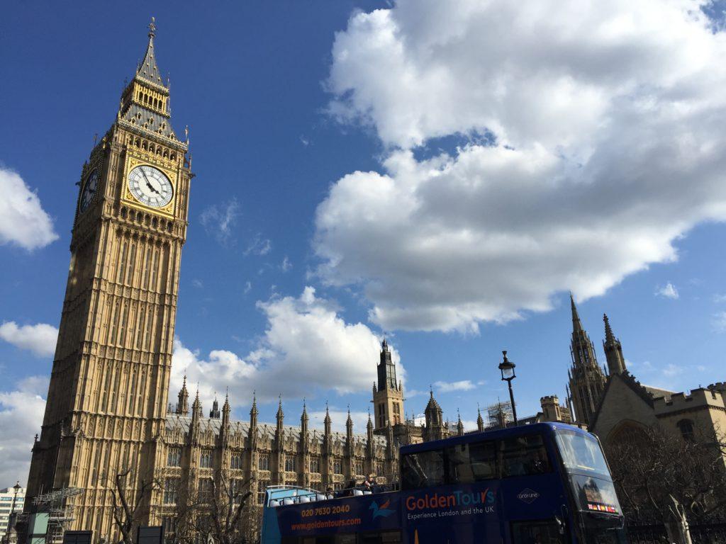 big ben, londýn, tonychef