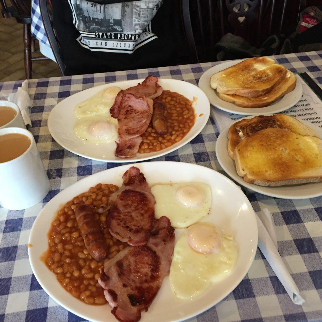 english breakfast, londýn, tonychef