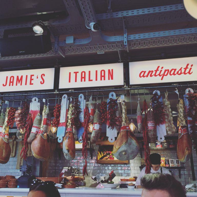 jamie`s italian, antipasti, budapest, hungary, tonychef