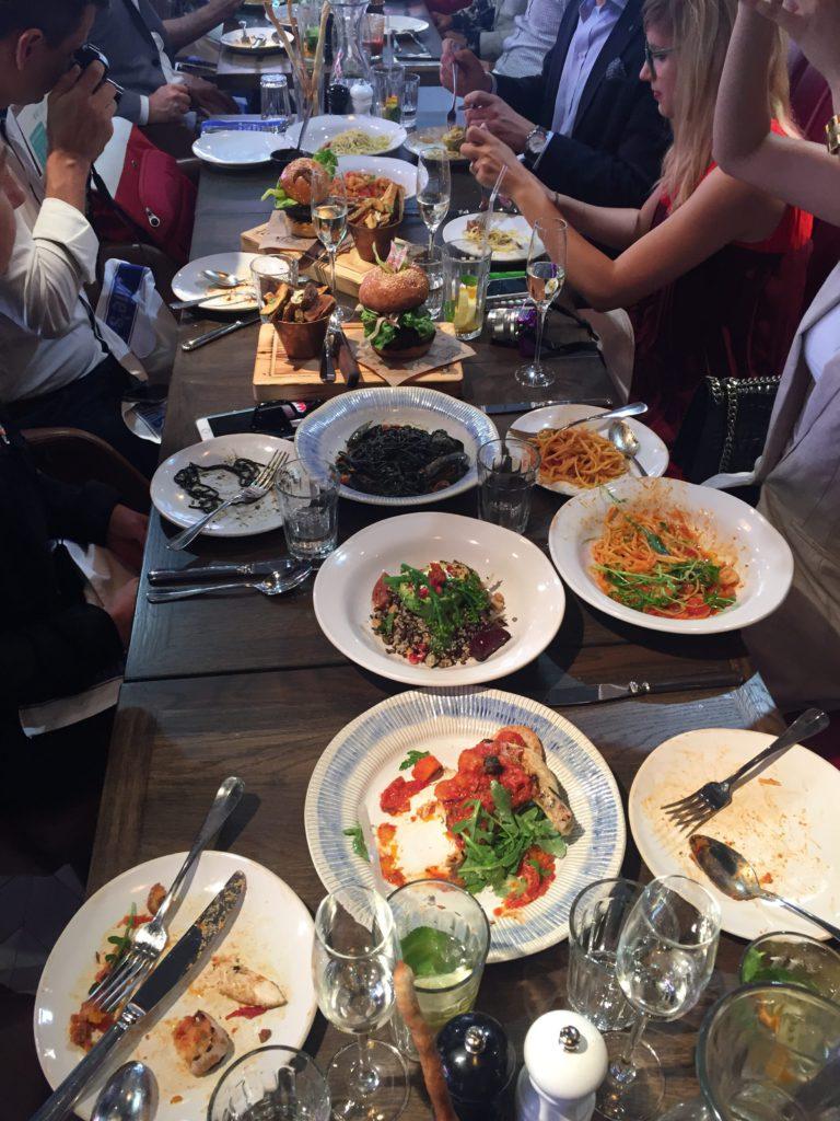lunch, jamie`s italian, budapest, hungary, tonychef