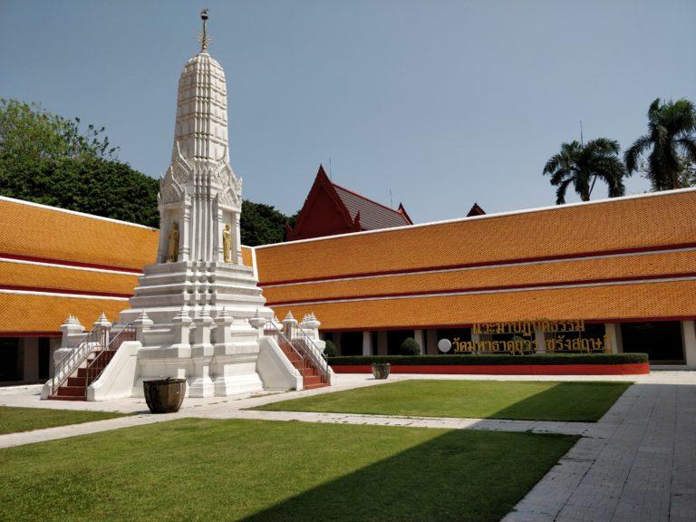 thajsko, bangkok, budhistický chrám