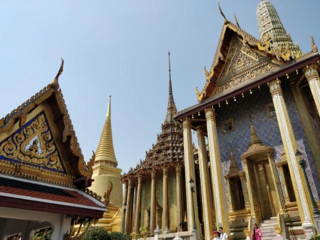thajsko, bangkok, the grand palace, budhisticky chram, tony dubravec, cestovatelsky blog