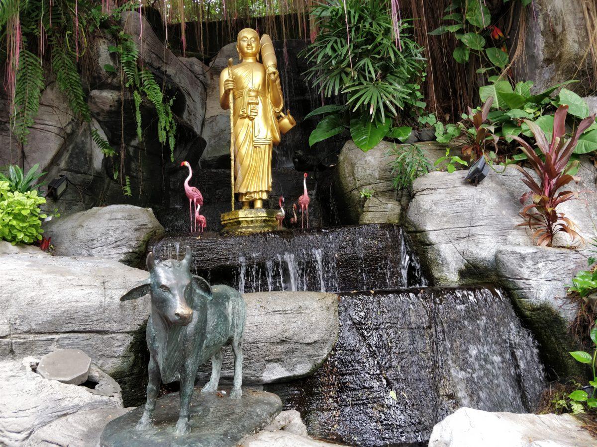 thajsko, bangkok, wat saket, budhisticky chram, tony dubravec, cestovatelsky blog