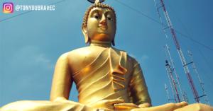 krabi, tiger cave temple, thajsko, tony dubravec, cestovatelsky blog