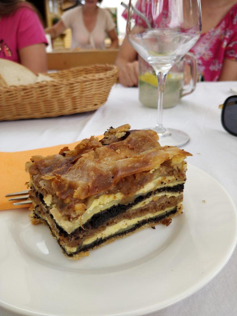 slovinsko, jedlo, steak, gastro, dovolenka, cestovatelsky blog, cestovanie, bloger, tony dubravec, prekmurska gibanica